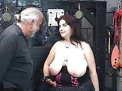 BDSM, Blowjob, Big Boobs, Brunette, BBW
