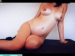 Amateur, Pregnant, French, Massage