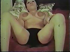 Big Boobs, Lingerie, MILF, Nipples, Vintage