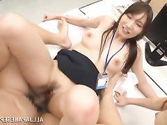 Asian, Big Tits, Blowjob, Feet, MILF