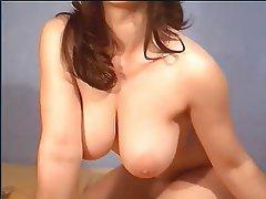 Amateur, BBW, Brunette, Masturbation, Webcam