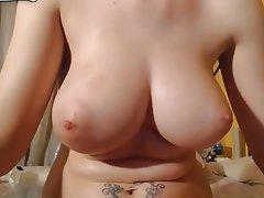 Amateur, Big Boobs, Brunette, Masturbation
