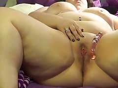 BBW Building Up To Squirting Orgasm